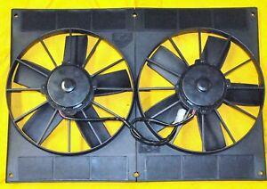 11-034-Dual-2800-cfm-Electric-Fan-Pro-Series-Twin-11-in