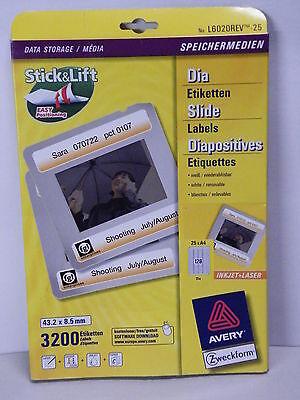 Ausdrucksvoll Etiketten Für Speichermedien 43,2 X 8,5 Mm Von Avery/zweckform 6020 3200 St.