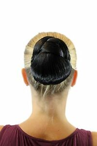 Tango-Hair-Piece-Braided-Braid-Bun-Hair-Bun-Costume-Black-Oval-TC-2074-2