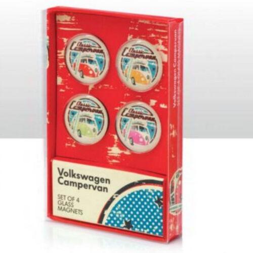 Volkswagen Officially Licensed VW Campervan Glass Magnets