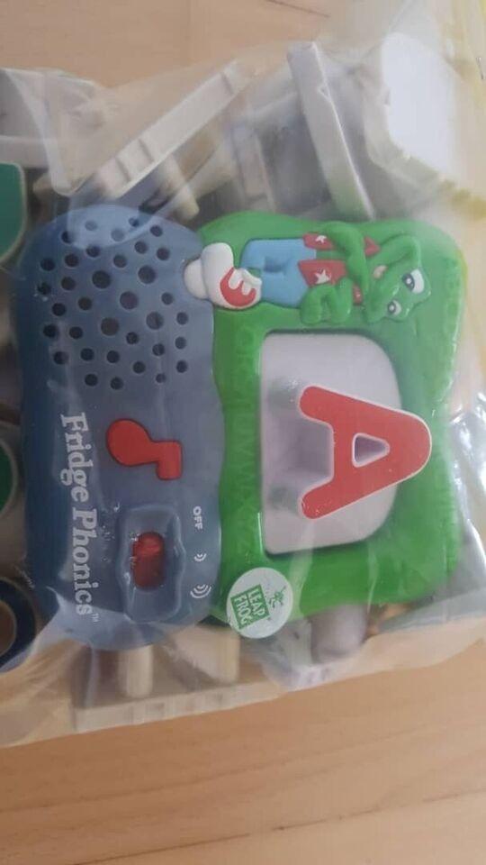 Magnetisk legetøj, Fridge phonics, Leap Frog