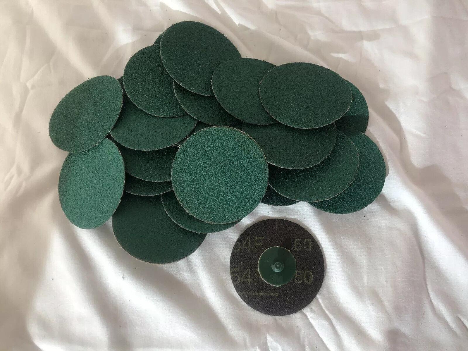 3M™ 01406 Green Corps™ Roloc™ Disc 3M 1406 3 inch 25 discs per box 50YF Grit