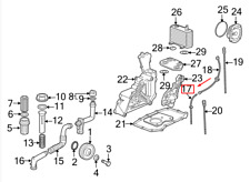 New Oem Porsche Boxster 986 Lower Engine Dipstick Tube 99610711303 Genuine