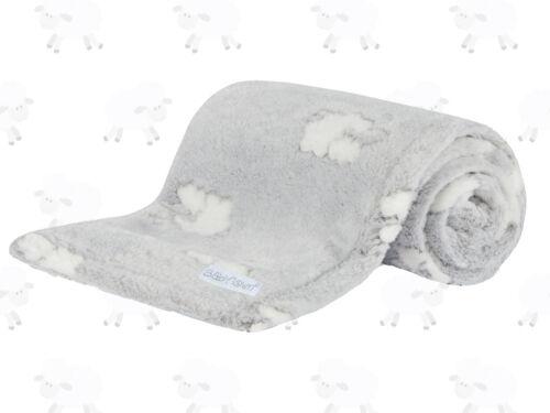 Bébé Garçons Filles Polaire Douce Agneau Bébé Couverture Couette Wrap idée cadeau