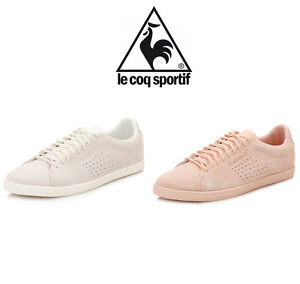 c6d2adb23f64 Image is loading Le-Coq-Sportif-Womens-Charline-Trainers-White-or-