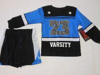 Boys Outfits Toddler Boys Clothes Boys Shorts Boys Varsity Shirt 2 Pc Set 2t