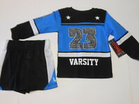 Boys Outfits Toddler Boys Clothes Boys Shorts Boys Varsity Shirt 2 Pc Set 2t