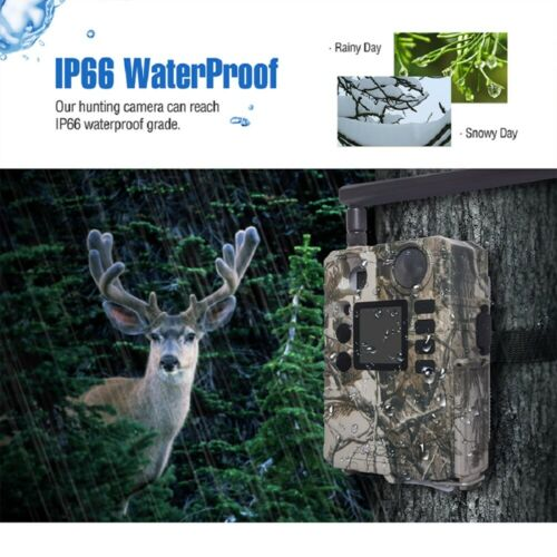 4G//LTE Cellular Hunting Game /& Trail Camera Security Spy Cam for Verizon or AT/&T