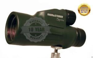 Barr & Stroud Sprite 10x50 Bak-4 Prisme Fmc Wp Monoculaire C/w Case & Trépied-afficher Le Titre D'origine