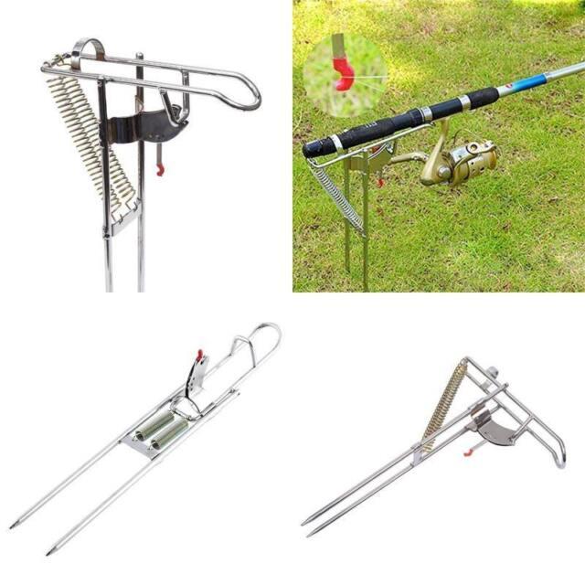LTC Adjustable Side Mount Boat Fishing Pole Rod Steel Holder Tackle Tip-Up Hook