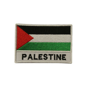 Palestine Country Flag Patch Iron On Patch Sew On Badge Embroidered Patch