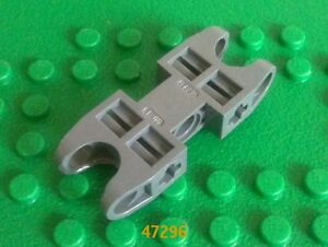 Dark Grey Lego Technic Connector 2 x 5 with Two Ball Sckts 47296 (4 Pack)