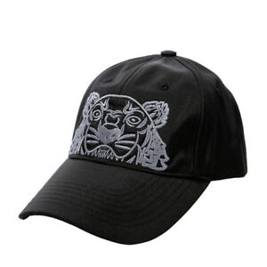 5a2d2a158 Details about KENZO Tiger Cap Mens Womens Black Hat 5AC301 F20 99  Adjustable Outdoor Authentic