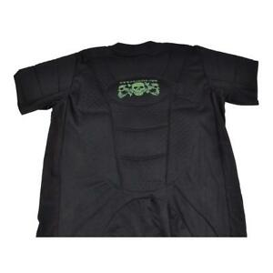 3Skull-Body-Shield-Paintball-Padded-Chest-Protector-BLACK-Small-NEW