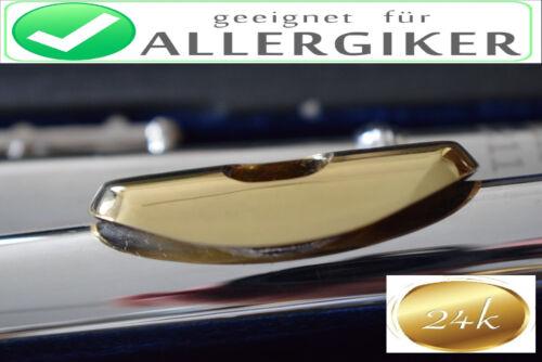 Gold-Lip Kopf  Allergiker 24K Gold Lip 999 Gold Headjoint 24 KG Gold