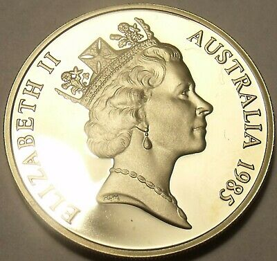 1985 Cammeo Prova ~ Solo 75,000 Coniate ~ Lyrebird Good For Energy And The Spleen Australia 10 Centesimi Other Ancient Coins