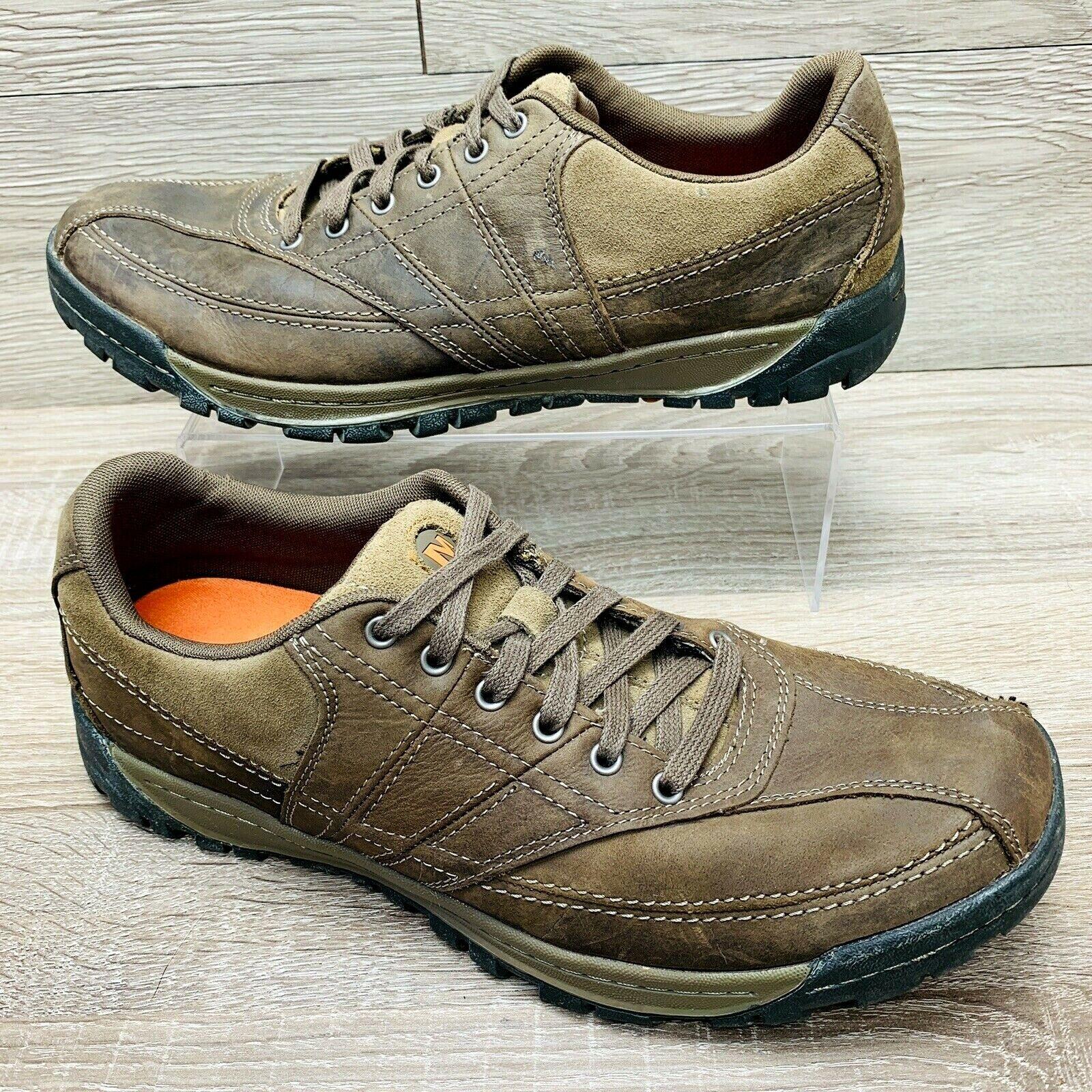 Merrell Canteen Men's Brown Nubuck Leather Casual Walking Shoes J42099 Sz 11.5 M