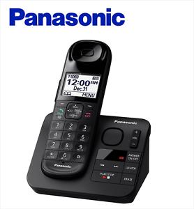 panasonic kx tgl430b expandable cordless phone answering machine ebay rh ebay com panasonic answering machine manual dect 6.0 panasonic answering machine owner's manual