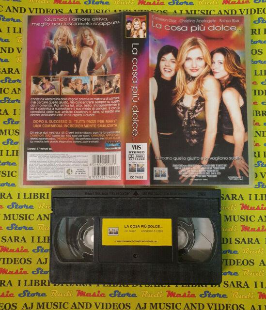 VHS Film LA COSA PIU' DOLCE 2002 Cameron Diaz Selma Blair COLUMBIA (F76) no dvd
