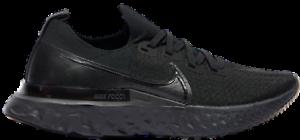Men's Nike React Infinity Run Flyknit (SIZE 8-13) Triple Black Running Shoes NEW