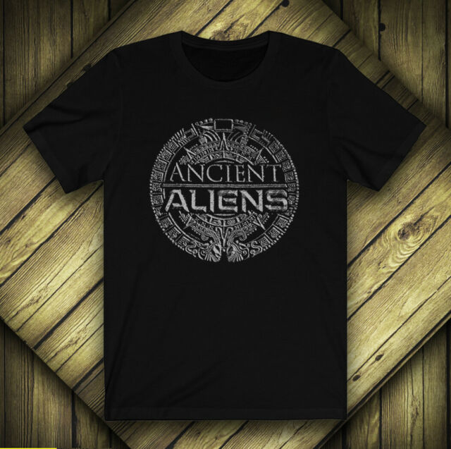 Ancient Aliens M L XL Black Ancient Astronaut Theorists Say Yes T Shirt S