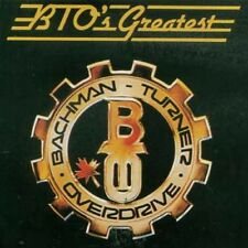 BTO's Greatest Hits by Bachman-Turner Overdrive (CD, Mercury)