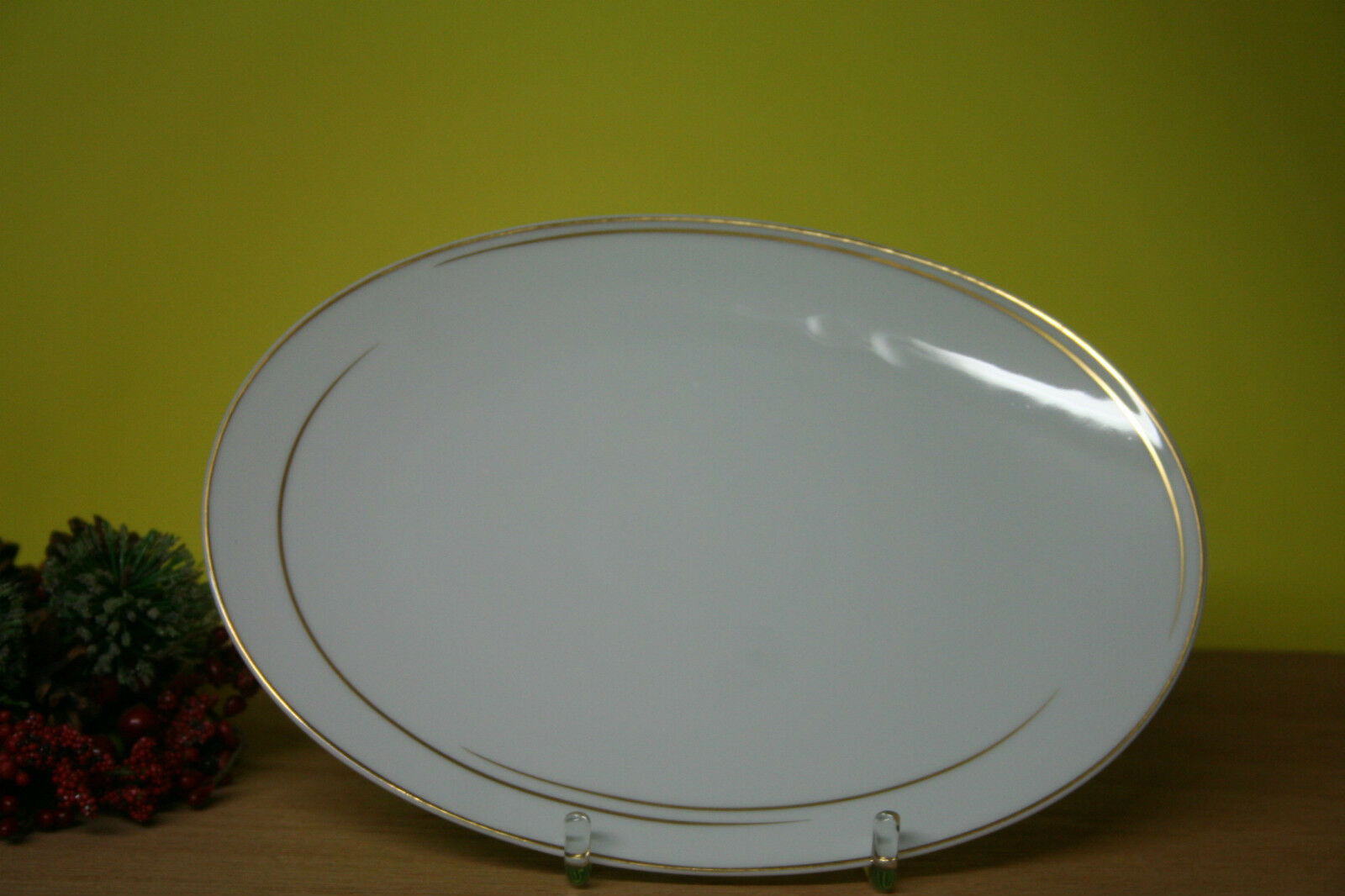 Plaque ovale rosenthal tac Gropius Dynamic or