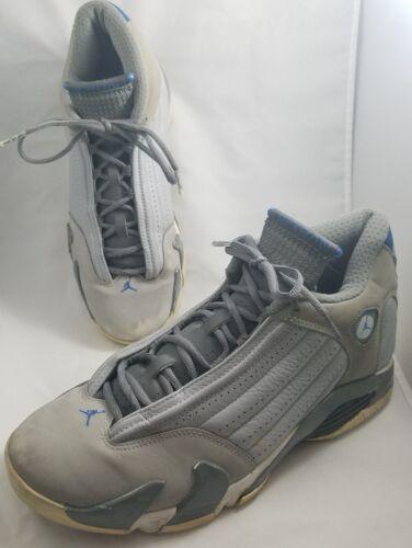 Wolf bianco grigio Blu 004eac5d28c1f1511d513db14f24eb56870 Nike 10 Sz Jordan 14 Retro 5 487471 Air Grigio sport TlJFc3uK1
