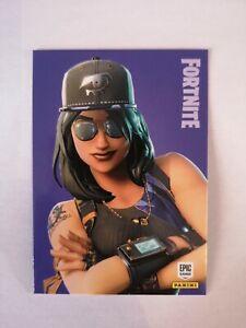 Carte-panini-FORTNITE-serie-1-Trading-card-172-FORTUNE-Rare