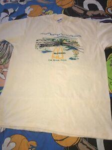 1ed96656a6953 McDonald s University Oak Brook Illinois Graphic T-shirt Vintage 80s ...