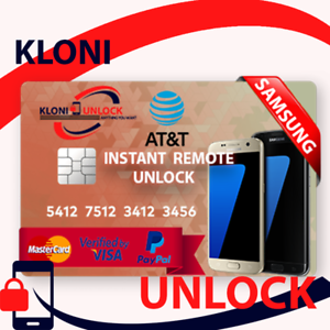 Details about INSTANT REMOTE UNLOCK CODE AT&T ATT SAMSUNG GALAXY NOTE 8 S8+  S8 S7 S7 EDGE