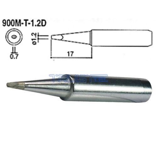 2X Solder Soldering Iron Tip 900M-T-1.2D for Hakko Soldering Rework Station Too