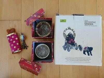 EntrüCkung Geschenkidee Gift Hochzeit Souvenir Aus Indien Ganesha Schmuck Schlüsselanhänger
