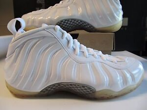 the best attitude e9d02 328bd Image is loading DS-Nike-Air-Foamposite-One-White-Metallic-Silver-