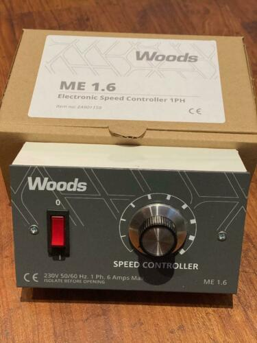 New Flakt Woods Speed Controller ME 1.6