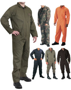 Image is loading Military-Flight-Suit-Air-Force-Fighter-Coveralls-Army- f804738686c