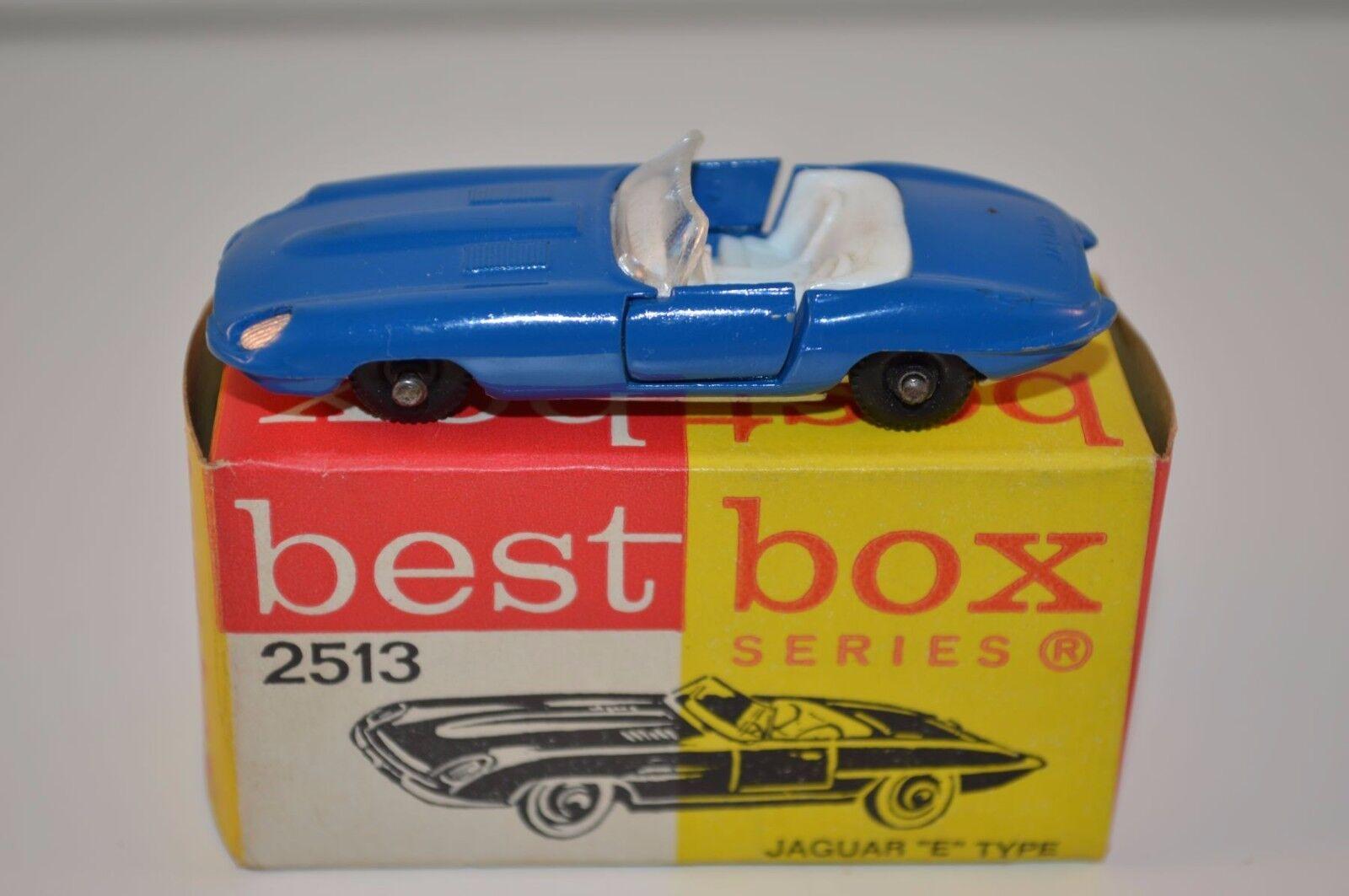 Bestbox Best Box 2513 Jaguar E Type very near mint in box very scarce colour