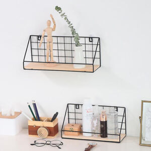 Floating-Wall-Shelves-Metal-Display-Shelf-Bookshelf-Storage-Unit-Home-Decor-DIY