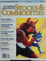 Technical Analysis Of Stocks & Commodities May 2017 Trading Free Shipping Sb