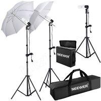 Studio Photography Lighting Kit Umbrella Stand Professional Photo -advertising