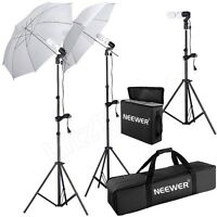 Studio Photography Lighting Kit Umbrella Stand Professional Photo -advertising