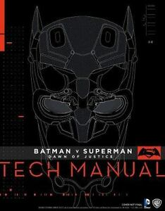 Batman v superman dawn of justice tech manual by sharon gosling stock photo fandeluxe Gallery