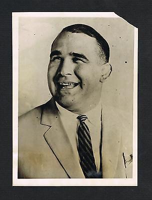 VERY RARE 1923 World Champion Ed Strangler Lewis wrestling wire photo wrestler
