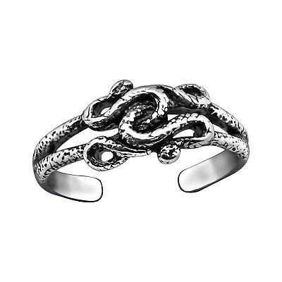 Sterling Silver Anillo del Dedo del Pie-Diseño nudo celta