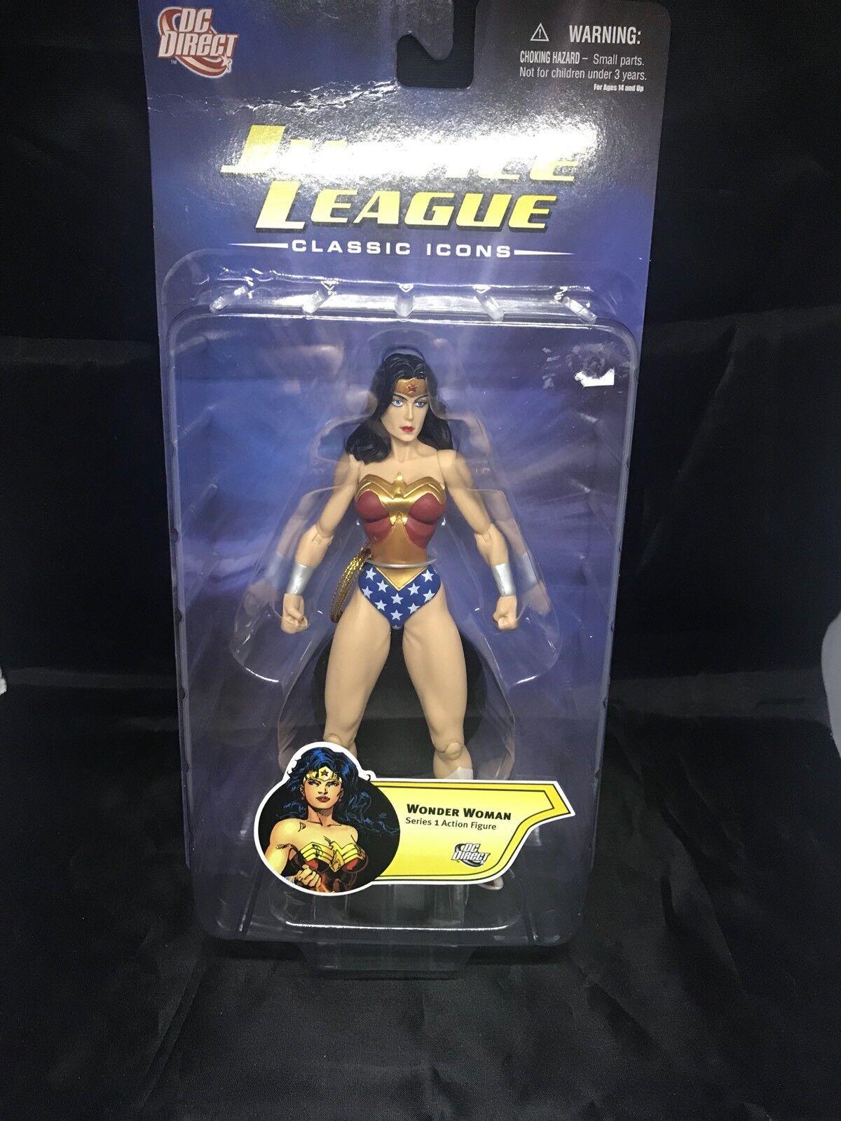 DC Direct Justice League: Classic Icons Series 1 Wonder Woman Action Figure