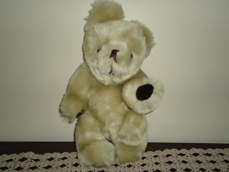 OOAK Handmade Jointed Teddy Bear Needs a Home