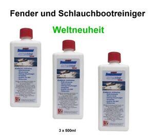 3-x-500ml-Fenderreiniger-BOATCLEANER-Reiniger-Planenreiniger-Spezialreiniger-TOP