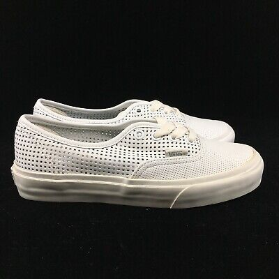 Vans Womens Authentic DX Square Perferated White White VN0A38ESMSH ULTRA CUSH   eBay