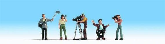 Noch 15573 Kamerateam (at work) HO 1/87