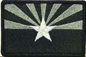 White /& Gray Version Morale Tactical III Hungary Flag Patch Iron-On Sew Black